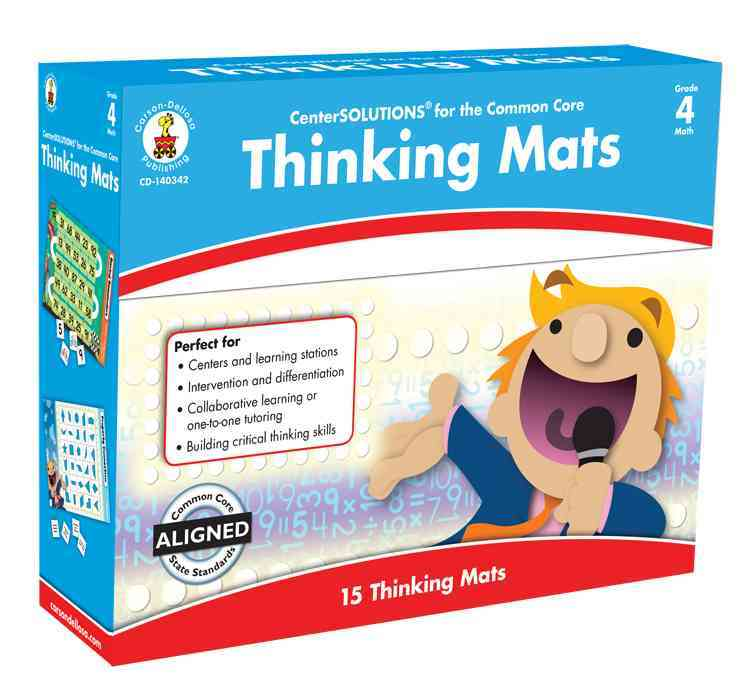Thinking Mats Classroom Support Materials, Grade 4 By Carson-Dellosa Publishing Company, Inc. (COR)